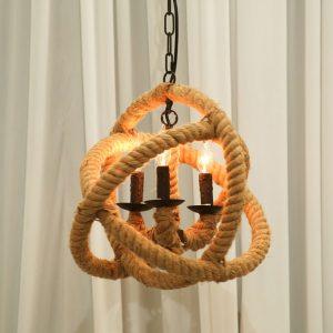 Rope Globe Chandelier